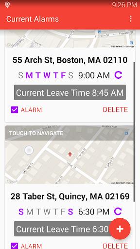 Traffic Alarm Clock