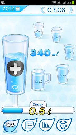 使人变苗条的水 变健康的水 Water Tracker