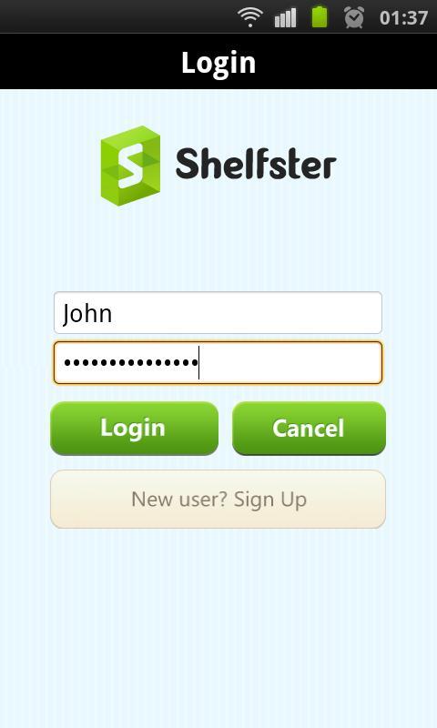 Shelfster- screenshot