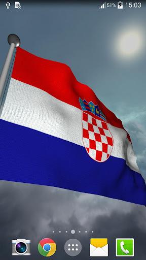 Croatia Flag + LWP