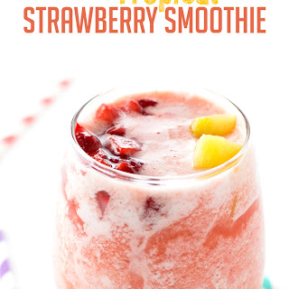 Tropical Strawberry Smoothies