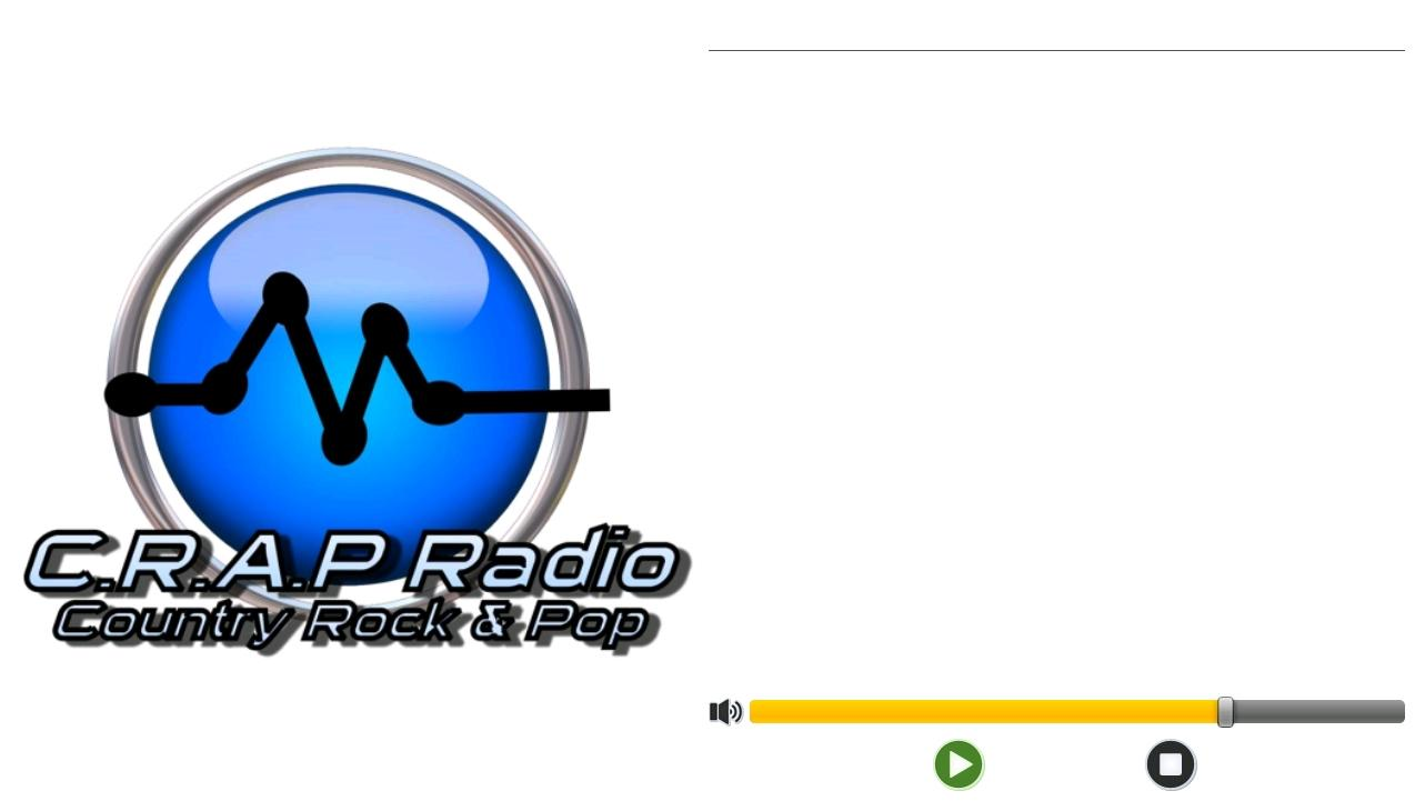 Crap Radio- screenshot