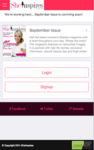SheInspires Magazine- screenshot thumbnail