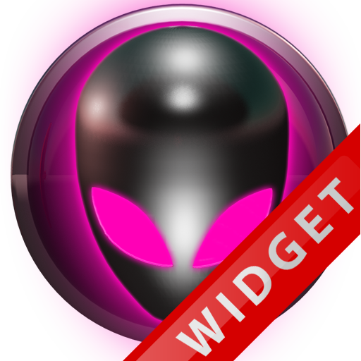 Poweramp Widget Pink Alien