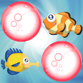Fishes Memory Game for Kids