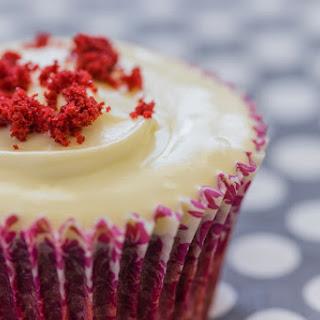 Low-Cal Red Velvet Cupcakes.