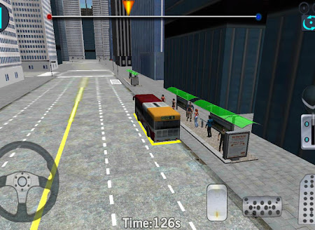 3D City driving - Bus Parking 1.2 screenshot 639149