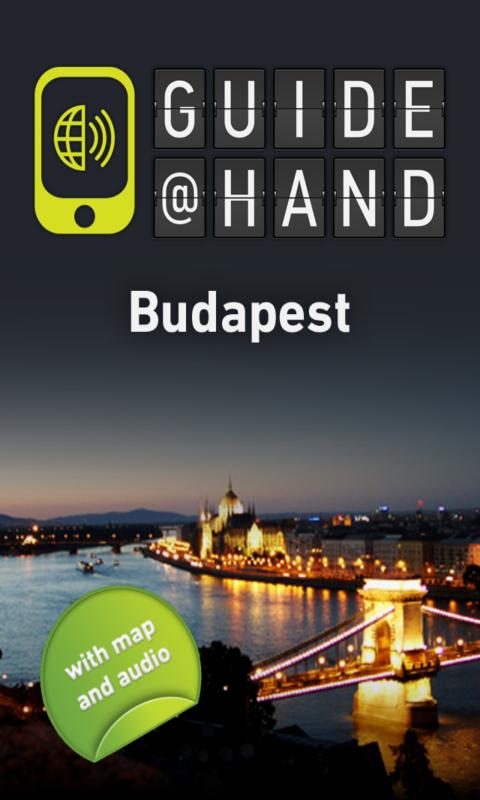 Budapest GUIDE@HAND - screenshot