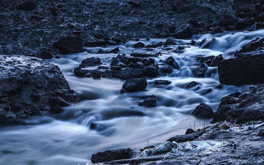 Flows like water but feels like Milk....  by Soumin Saha - Landscapes Waterscapes (  )