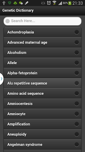【免費醫療App】Genetics Dictionary-APP點子