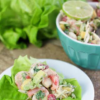 Coconut Shrimp Lettuce Wraps (Phase 2 and Diabetes).