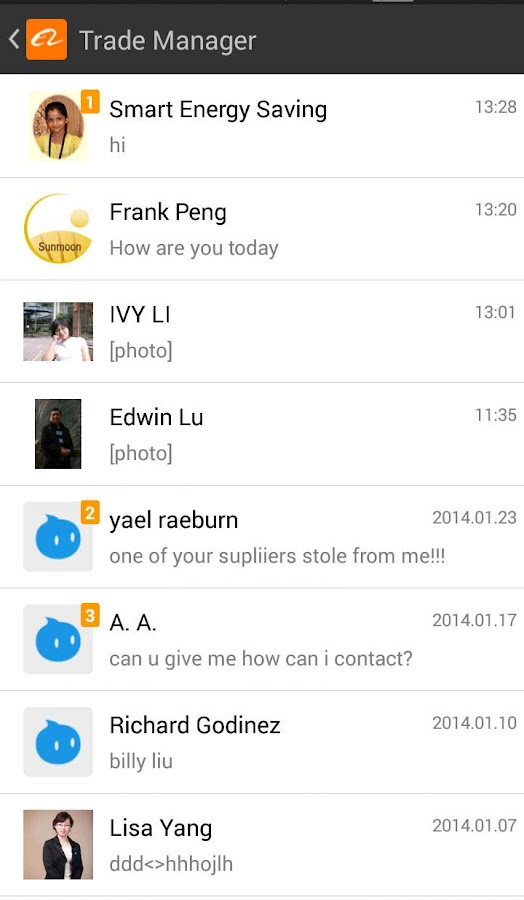 Afmobi palm chat for android