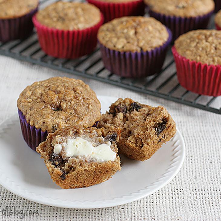 Oatmeal Raisin Cookie Muffins