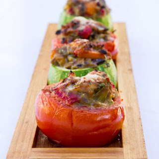 Provencal Stuffed Vegetables - Vegetarian Style