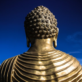 Peace by Jazz Photography - Artistic Objects Still Life ( clouds, peace, bluesky, buddha, jazzphotography )