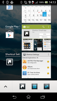 Shortcut Small App - screenshot