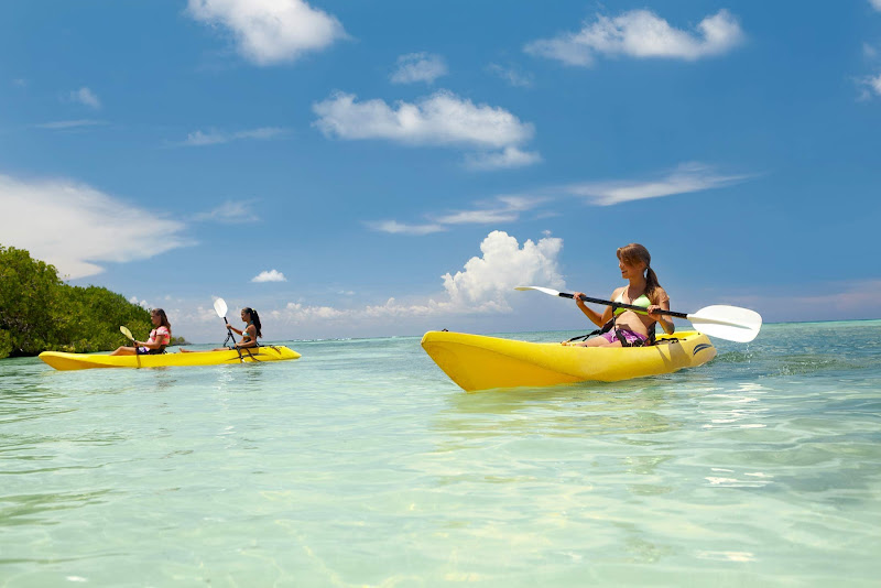 A kayak tour on Aruba.