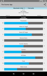 Live Soccer Scores - screenshot thumbnail