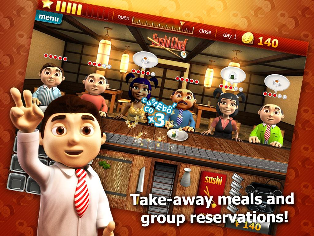 Youda Sushi Chef Premium - screenshot