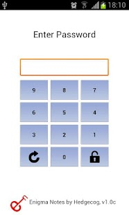 Password Protected Notes Free- screenshot thumbnail