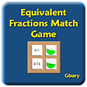 Equivalent Fractions Matching icon