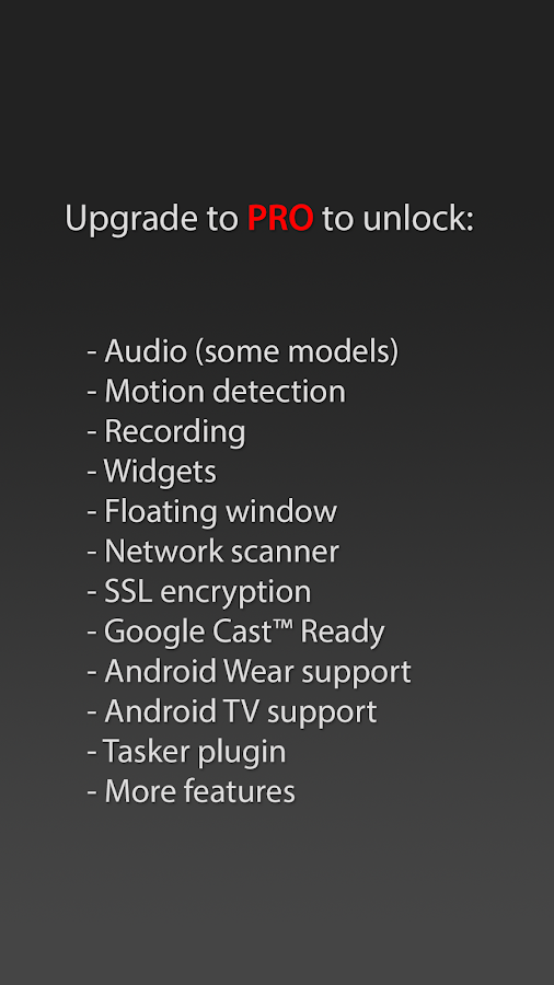tinyCam Monitor FREE - screenshot