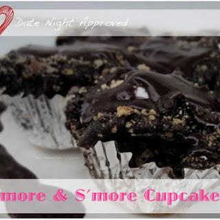 Date Night S'mores Cupcakes