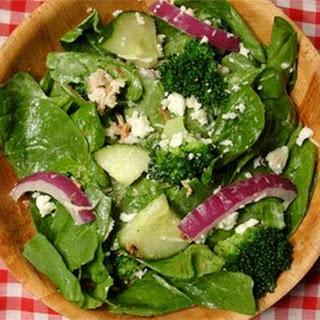 Spinach Ranch Salad.