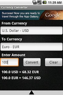 Currency Convertor - screenshot thumbnail