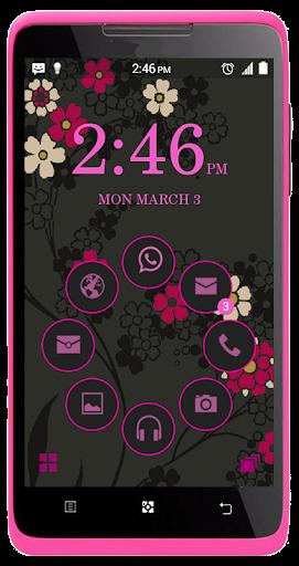 SL Carbon Pink Theme