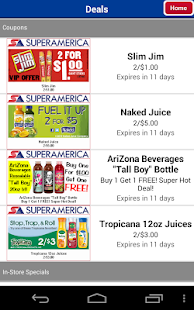 SuperAmerica Deals - screenshot thumbnail