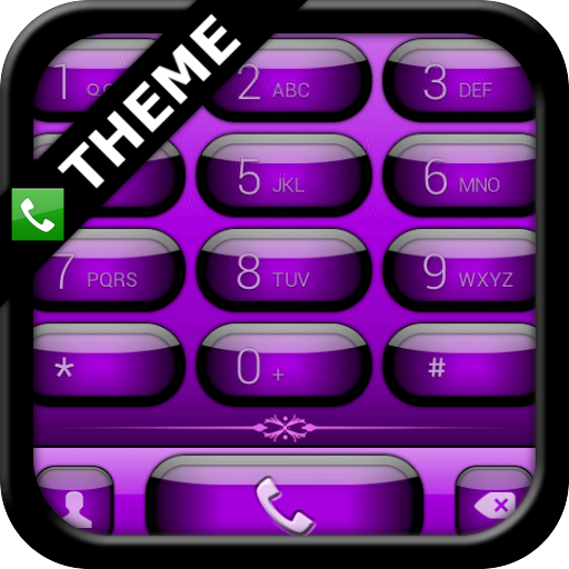 exDialer Jelly Purple Theme