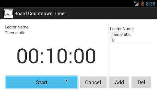 Countdown Timer presentation