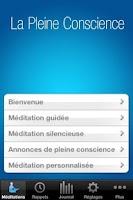 Screenshot of La Pleine Conscience