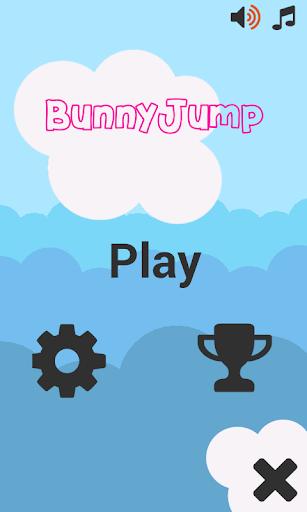 Easter Cute Bunny Jump
