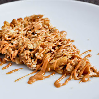 Apple Peanut Butter Snack Bars.