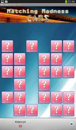 無料棋类游戏Appのクレイジーメモリ - 車 記事Game