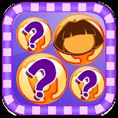 Memory Dora Explorer Game