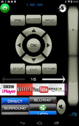 Remote for LG By MyAV 2013 TV
