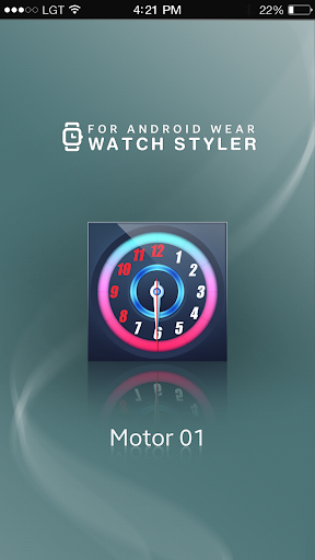 玩工具App|Watch Face Android - Motor免費|APP試玩
