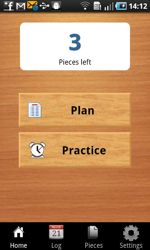 JustPractice- screenshot