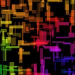 Square Rain Live Wallpaper