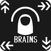 BRAINS (easy one-handed game)
