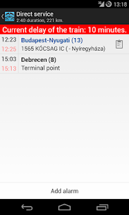 TElvira - Hungarian railway - screenshot thumbnail