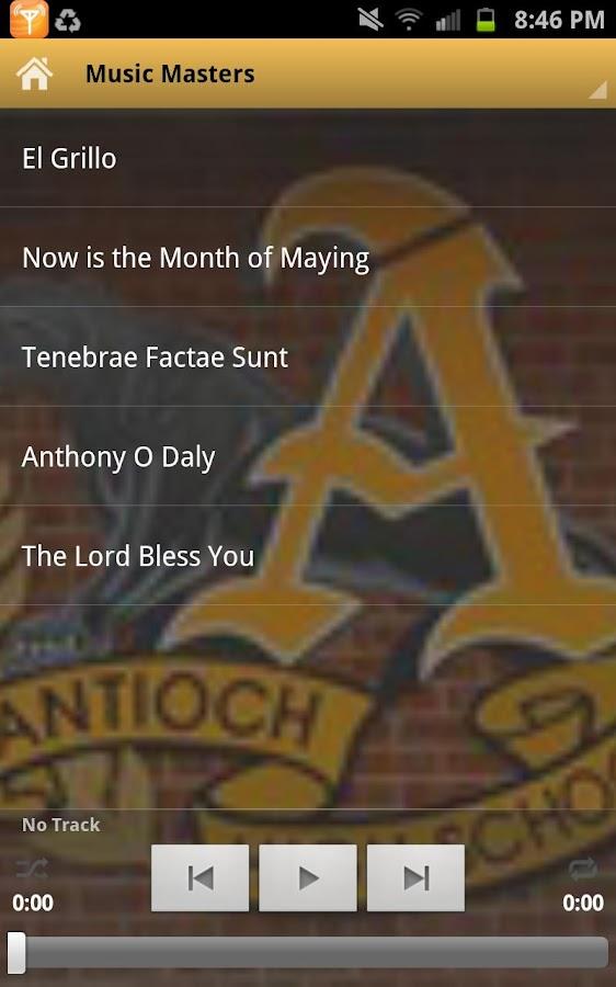 Antioch High School- screenshot