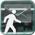 Walk and Message icon