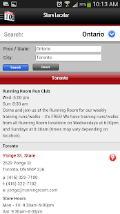 Running Room Mobile Runner PRO - screenshot thumbnail