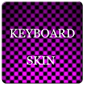 Pink Carbon Keyboard Skin icon