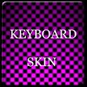 Pink Carbon Keyboard Skin icon