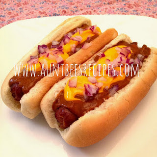 Crockpot Chili Cheese Dogs